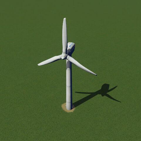 In-game wind turbine