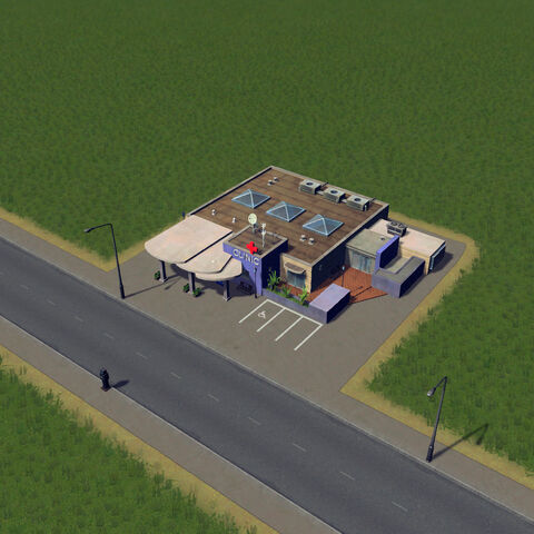 In-game medical clinic