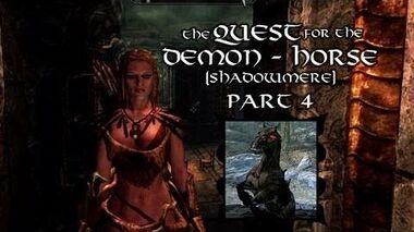 Skyrim For Pimps - Lover's Quarrel (S1E05) Dark Brotherhood Walkthrough-0