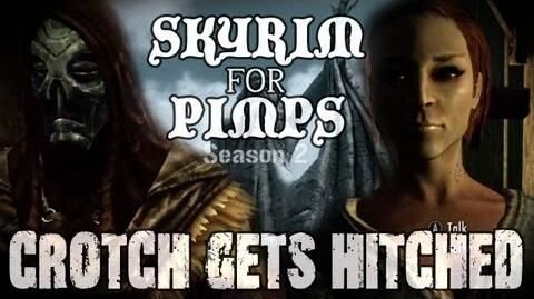 Skyrim For Pimps - Crotch Gets Hitched (S2E09) College of Winterhold Walkthrough-0
