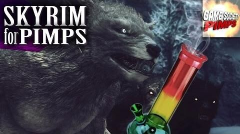 Skyrim For Pimps - Werewolf Drug Addict (S6E14) - Walkthrough - GameSocietyPimps