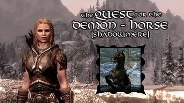Skyrim For Pimps - Quest For The Demon Horse Shadowmere (S1E02) Dark Brotherhood Walkthrough-0