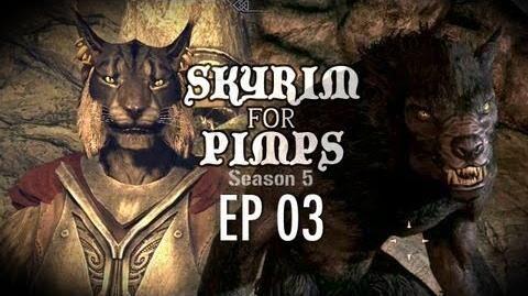 Skyrim For Pimps - A Little CatDog (S5E03) - Companions Walkthrough-0
