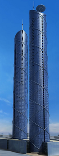 Sofi Center Towers