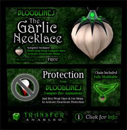 Product garlic-