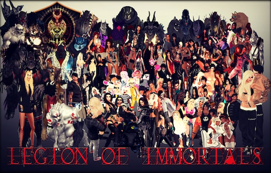 Legion of Immortals Family Portrait copy