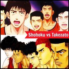 Shohoku vs takezato