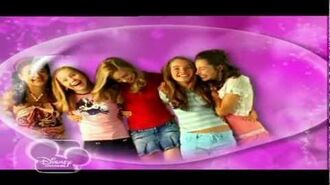 Disney Channel Italy - THE SLEEPOVER CLUB - Intro Opening