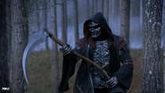 Dark Rider of Famine