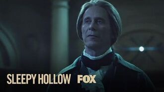 Ichabod Reunites With Thomas Jefferson In The Present Season 2 Ep. 16 SLEEPY HOLLOW