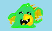 Dragon slime gordo