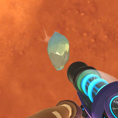 Strange Diamond in-game