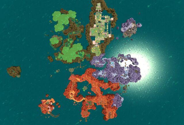 Изображение Slime Rancher Development World Map 051 Jpg