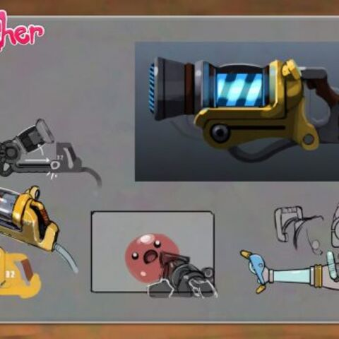The early concepts of the Vacpack.