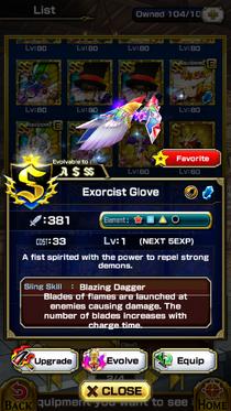 Exorcist Glove