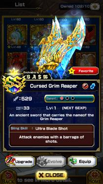 Cursed Grim Reaper