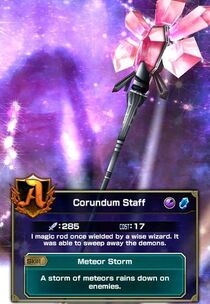 Corundum Staff