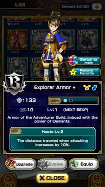 Explorer Armor +