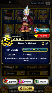Baron's Helmet (F)