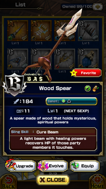 Wood Spear