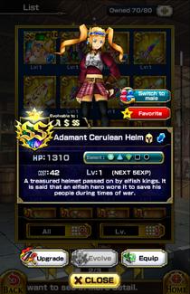 Adamant Cerulean Helm (F)