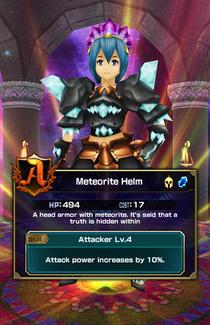 Meteorite Helm