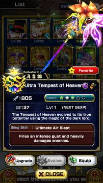 Ultra Tempest of Heaven