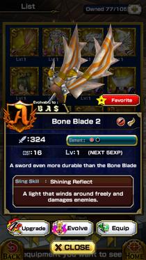 Bone Blade 2