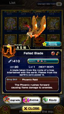 Felled Blade