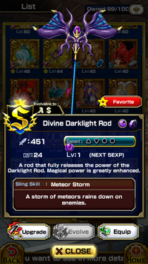 Divine Darklight Rod