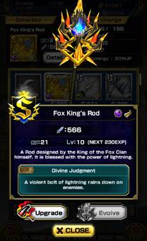 Fox King's Rod