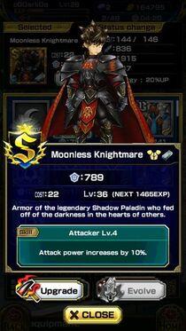 Moonless Knightmare M