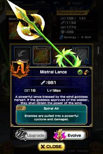 Mistral Lance