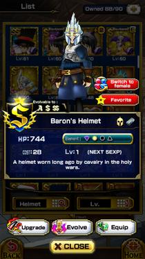 Baron's Helmet (M)