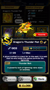 Dragon's Thunder Fist