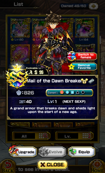 Mail of the Dawn Breaker