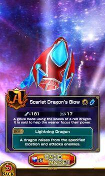 Scarlet Dragon's Blow
