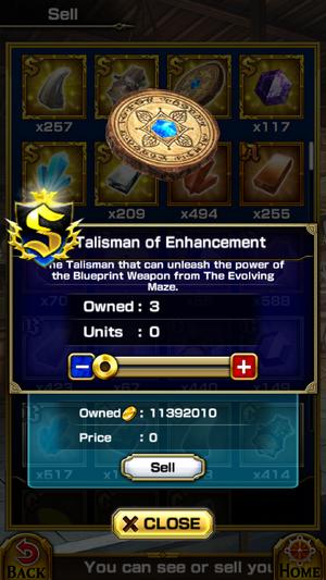 Talisman of Enhancement