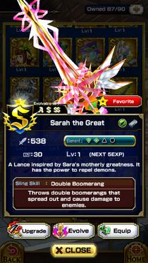 Sarah the Great