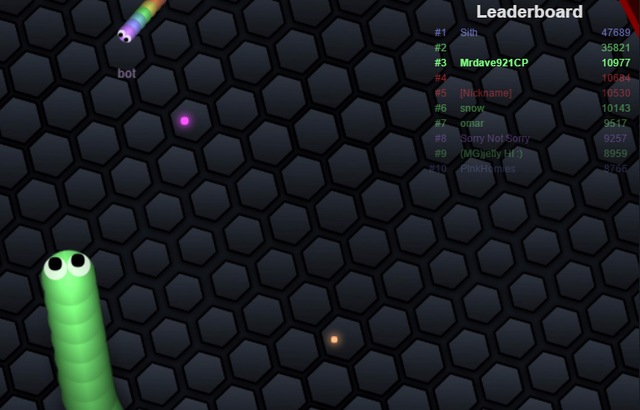 File:Slither.io - 3rd place on leaderboard.png