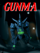 Gunma comic cover- issue 1