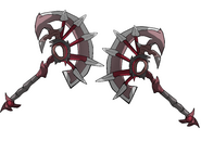 Komodus's weapons