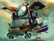 Cooper van time machine