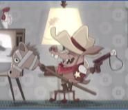 Sheriff Toothpick child