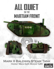 Mark II baldwin steam tank