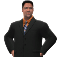 Tony Chimel WWE 13 render