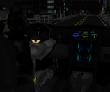 Batmobile interior