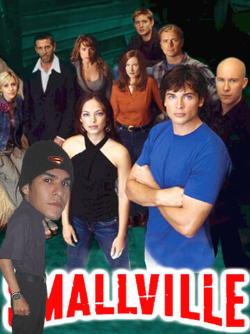 File:Fotomontaje Smallville cast y Yo (foto).jpg