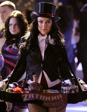 Serinda Swan as Zatanna Zatara