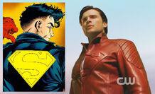 Alusión a la chaqueta de superboy